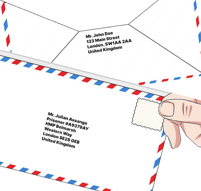 How to write Julian Assange